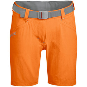 Maier Sports Lulaka Bermuda court Femme, persimmon orange